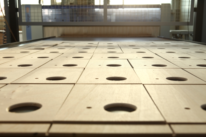 Holz CNC Serienfertigung